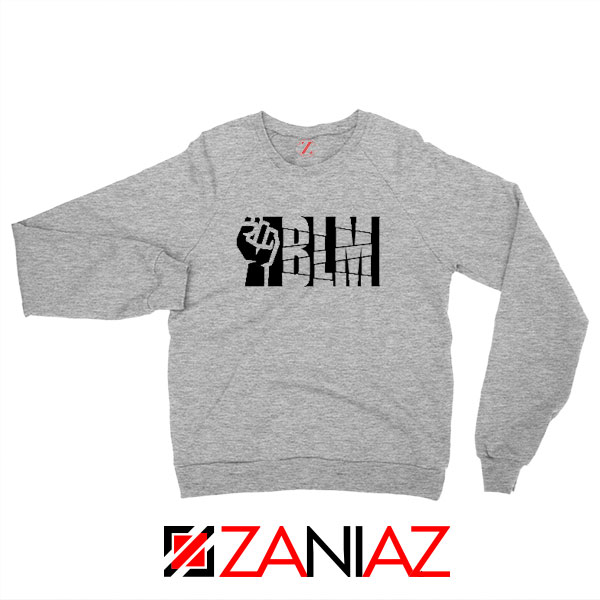 Black Lives Matters BLM Sport Grey Sweatshirt