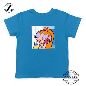 Blossom Character Kids Blue Tshirt