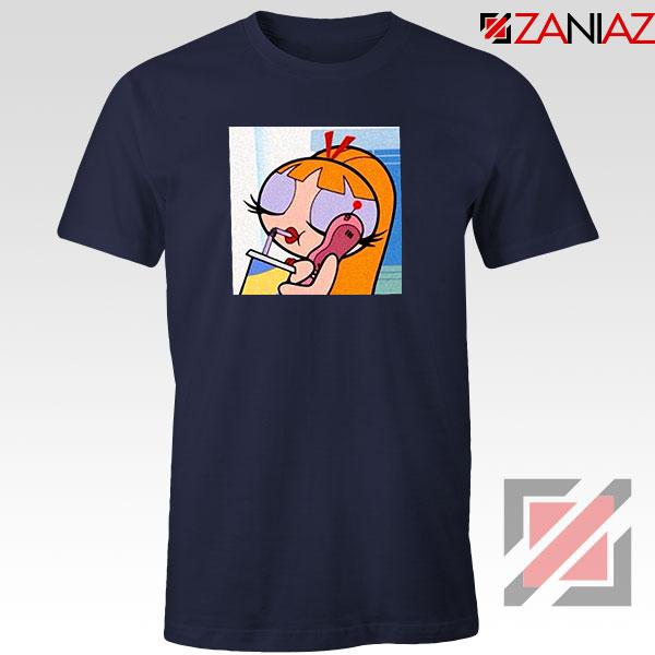 Blossom Character Navy Blue Tshirt