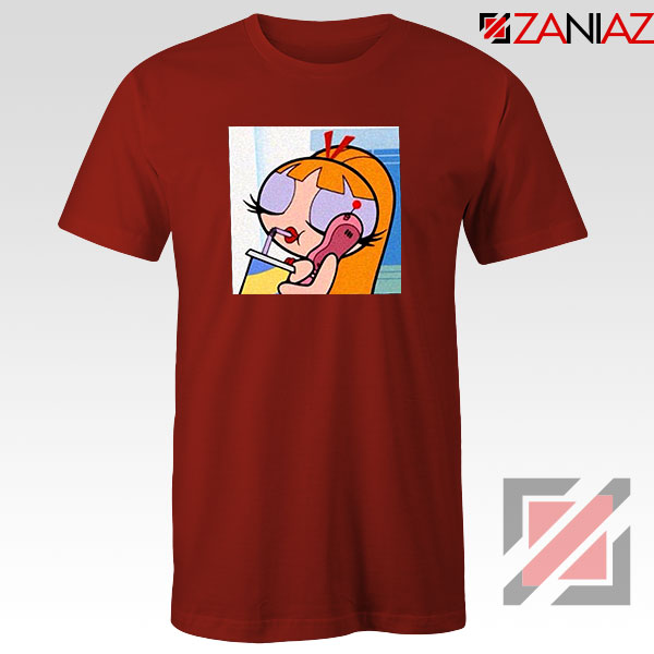 Blossom Character Red Tshirt