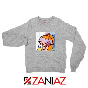 Blossom Character Sport Grey Sweatshirt