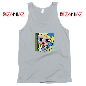 Bubbles Character Grey Tank Top