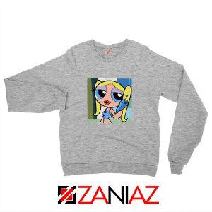Bubbles Character Sport Grey Sweatshirt