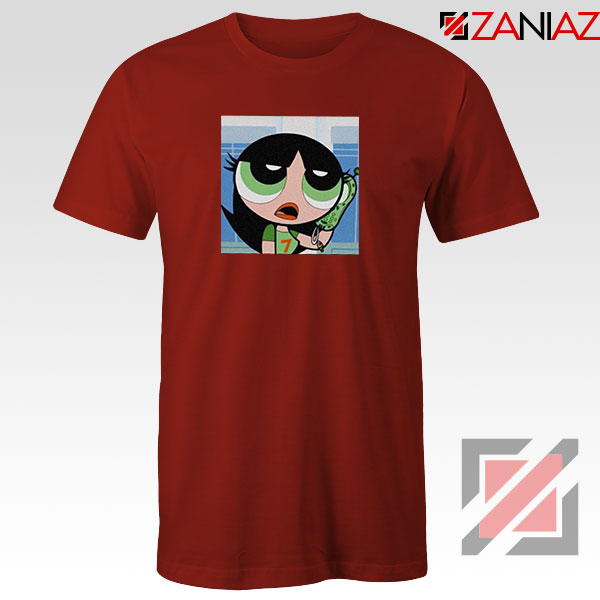 Buttercup Character Red Tshirt