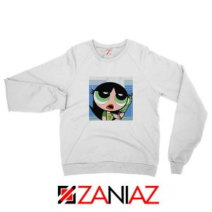 Buttercup Character White Sweatshirt