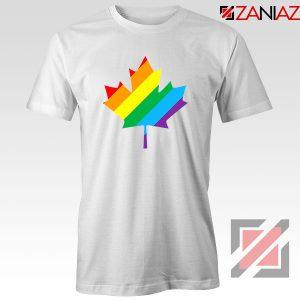 Canada Rainbow White Tshirt