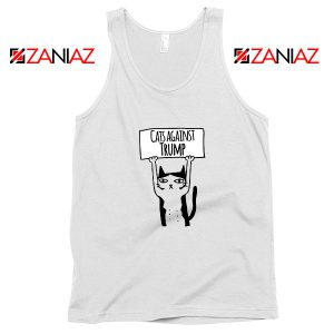 Cats Against Trump Tank Top