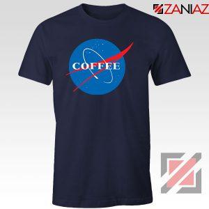 Coffee Nasa Navy Blue Tshirt