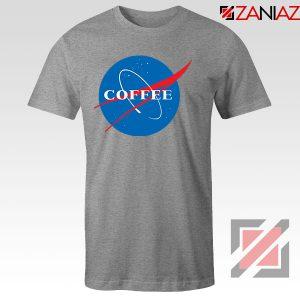 Coffee Nasa Sport Grey Tshirt
