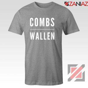Combs Morgan Wallen Sport Grey Tshirt