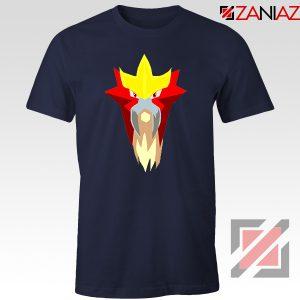 Entei Pokemon Navy Blue Tshirt