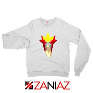Entei Pokemon White Sweatshirt