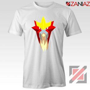 Entei Pokemon White Tshirt