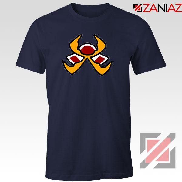 Fire Pokemon Type Navy Blue Tshirt