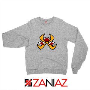 Fire Pokemon Type Sport Grey Sweatshirt