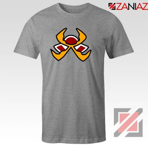 Fire Pokemon Type Sport Grey Tshirt