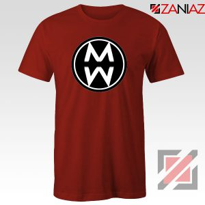Musician Country Logo Red Tshirt