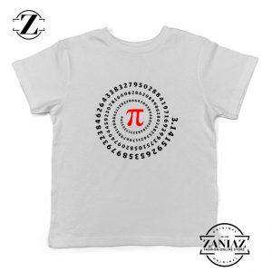 Pi Spiral Kids Tshirt