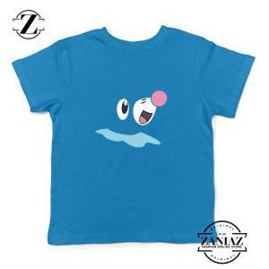 Popplio Pokemon Kids Blue Tshirt
