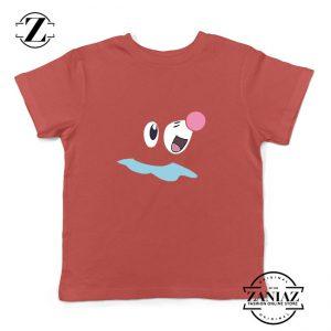 Popplio Pokemon Kids Red Tshirt
