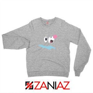 Popplio Pokemon Sport Grey Sweatshirt
