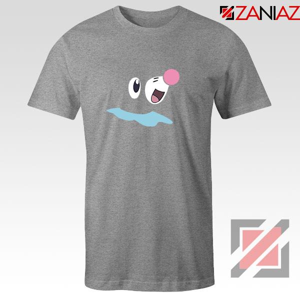 Popplio Pokemon Sport Grey Tshirt