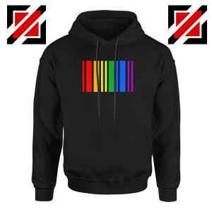 Rainbow Barcode Hoodie