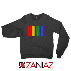 Rainbow Barcode Sweatshirt
