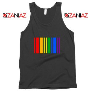 Rainbow Barcode Tank Top