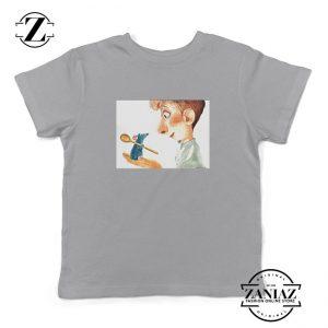 Ratatouille Mouse Kids Grey Tshirt