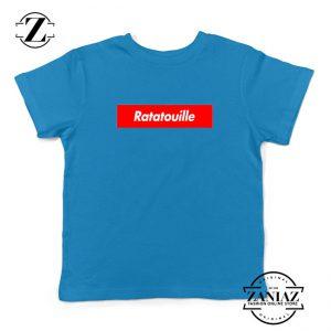 Ratatouille Red Logo Kids Blue Tshirt