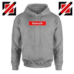 Ratatouille Red Logo Sport Grey Hoodie