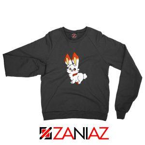 Scorbunny Rabbit Black Sweatshirt