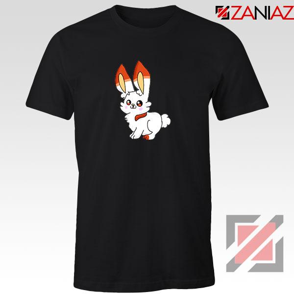 Scorbunny Rabbit Black Tshirt