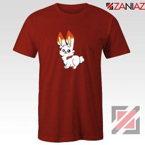 Scorbunny Rabbit Red Tshirt
