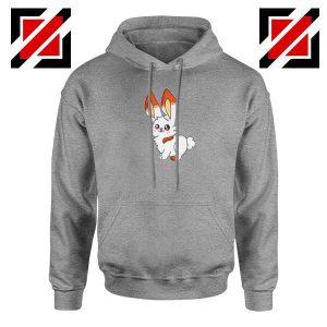 Scorbunny Rabbit Sport Grey Hoodie