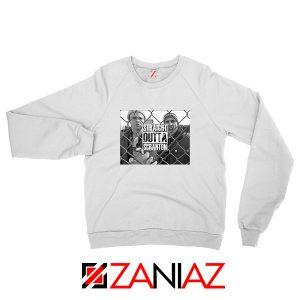 Straight Outta Scarton White Sweatshirt