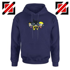 Supertough Girls Navy Blue Hoodie