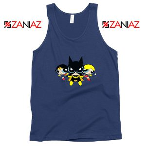 Supertough Girls Navy Blue Tank Top