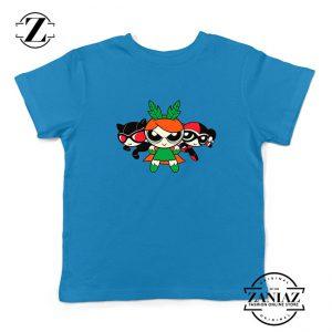 Supervillain Powerpuff Girls Kids Blue Tshirt