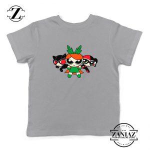 Supervillain Powerpuff Girls Kids Grey Tshirt