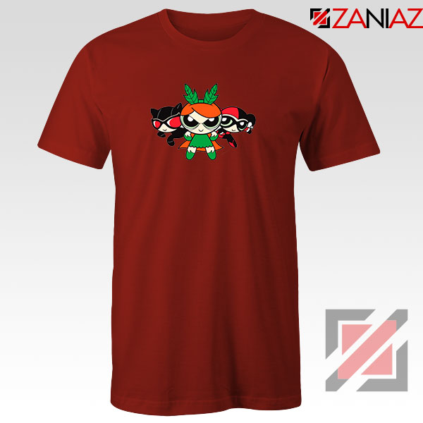 Supervillain Powerpuff Girls Red Tshirt