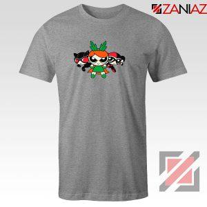 Supervillain Powerpuff Girls Sport Grey Tshirt