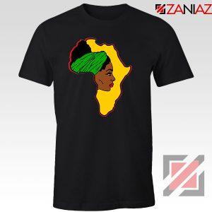 African American Women Black Tshirt