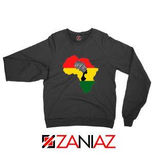 African Black Women Sweatshirt