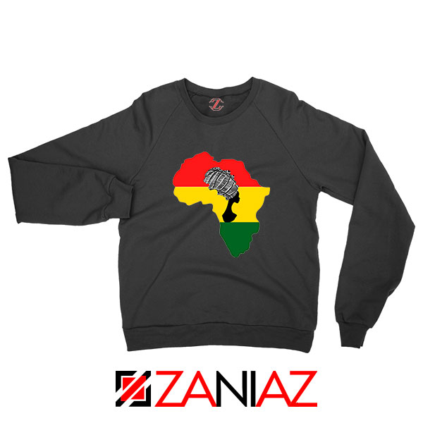 African Black Women Sweatshirt