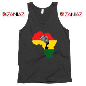 African Black Women Tank Top