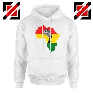 African Black Women White Hoodie