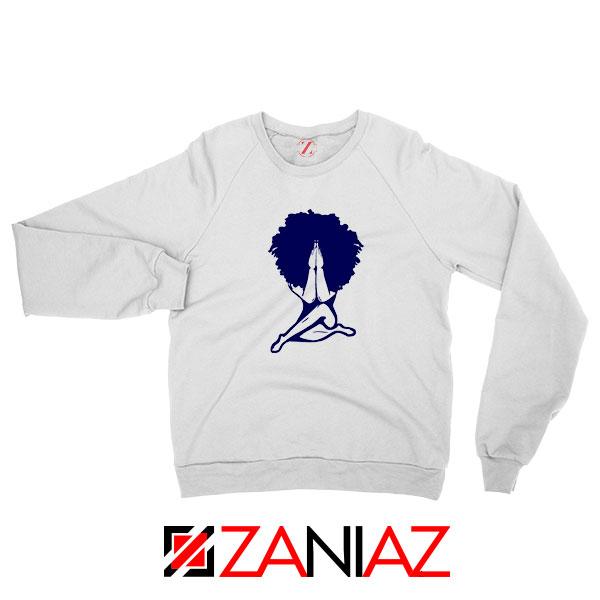 Afro Woman Praying Sweatshirt