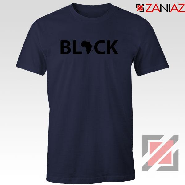 Afrocentrism Navy Blue Tshirt